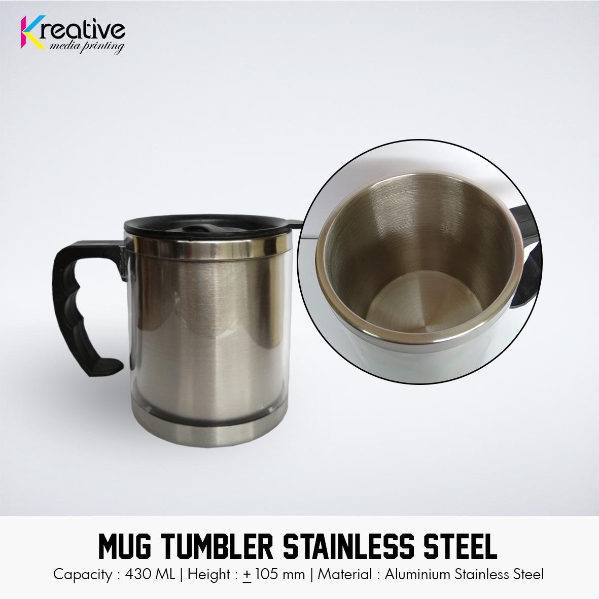 Mug Tumbler Stainless Steel (2)