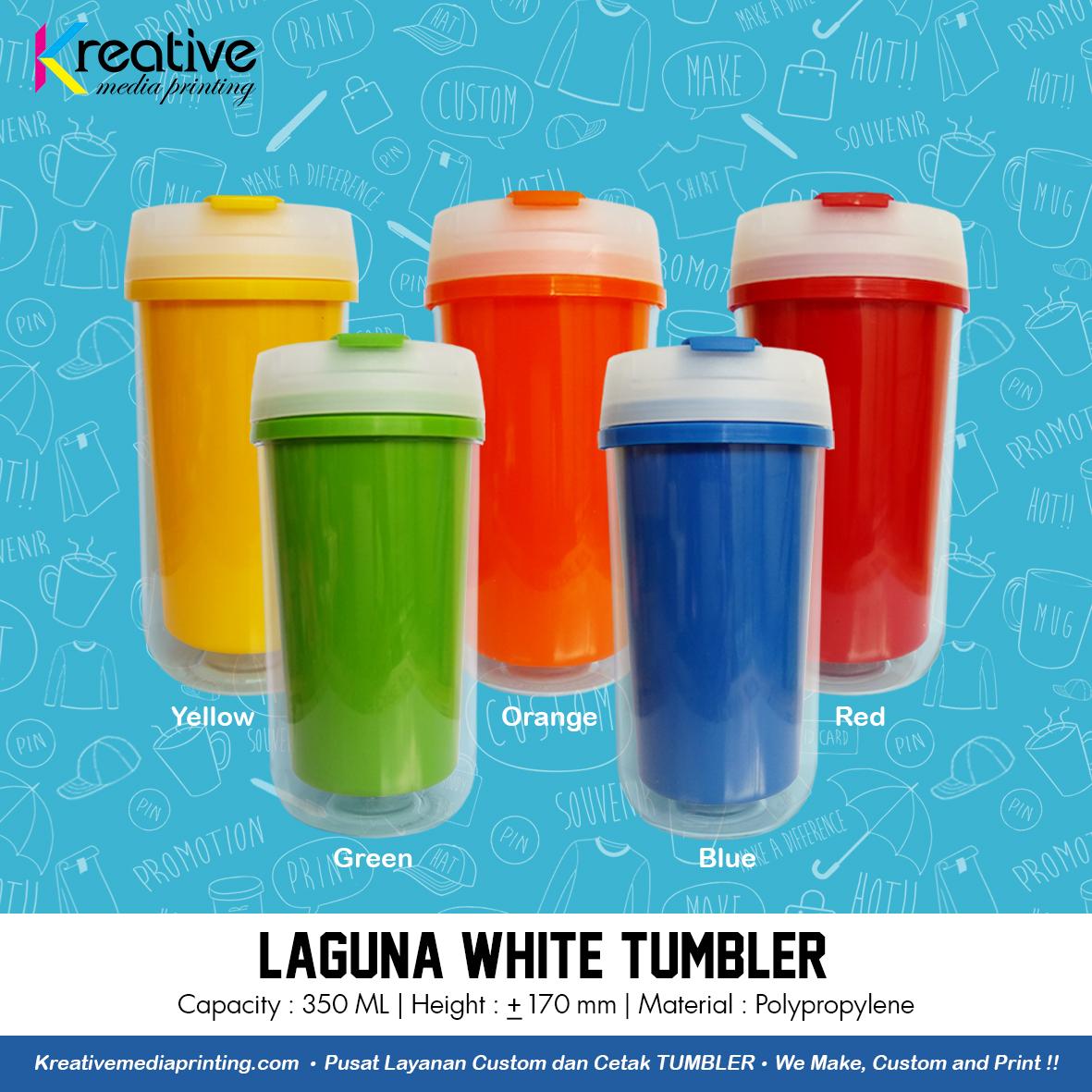 Laguna White Tumbler (2)