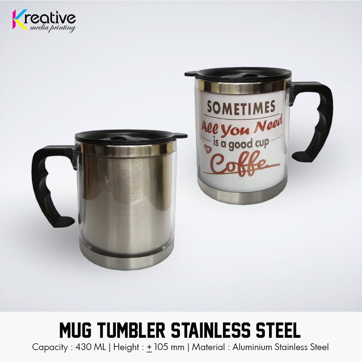 Mug Tumbler Stainless Steel