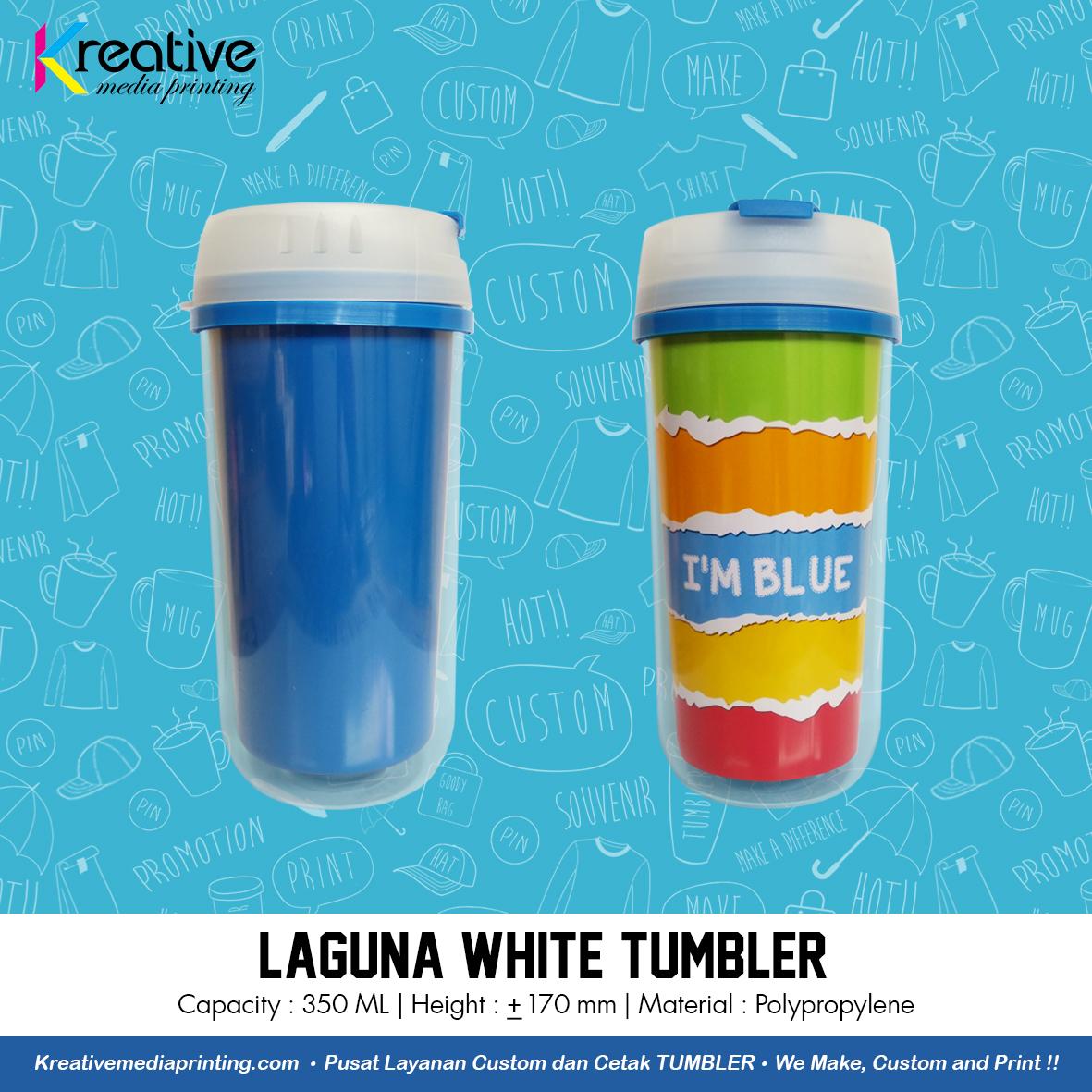 Laguna White Tumbler (1)