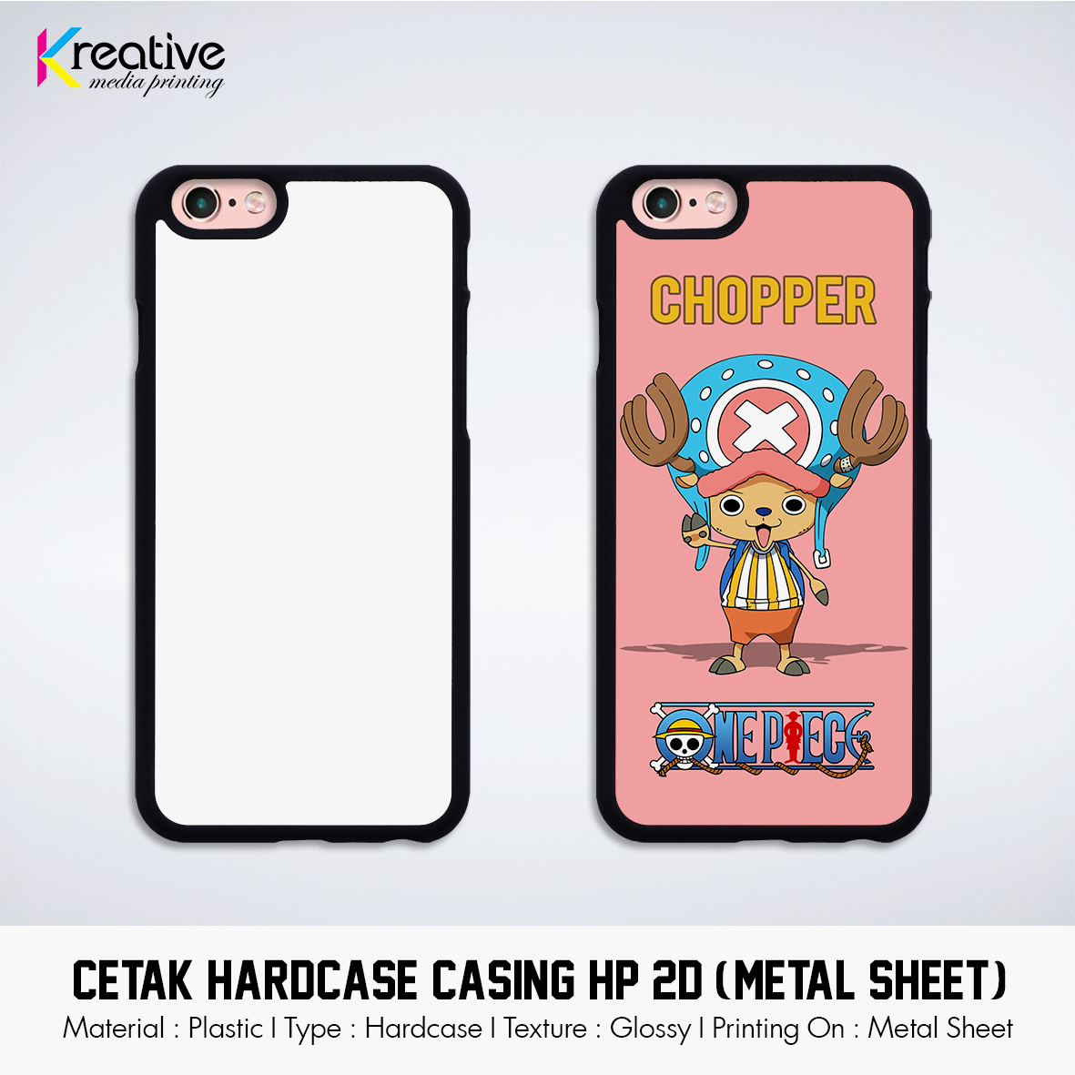 Cetak Hardcase Casing HP 2D (Metal Sheet, Black Colour) (1)